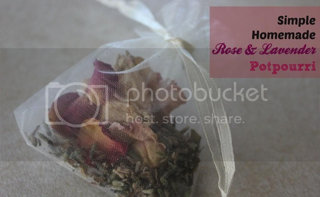 Clearwater Cottage Homemade Lavender And Rose Potpourri Sachet