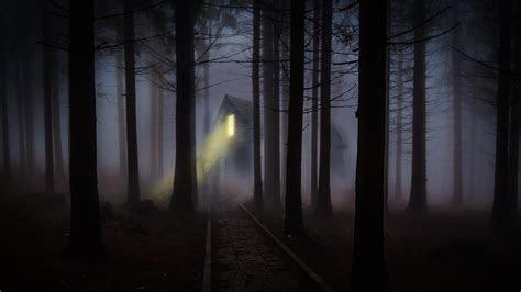 foggy night laptop wallpaper  uhd