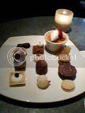 Dessert plate at Jardiniere