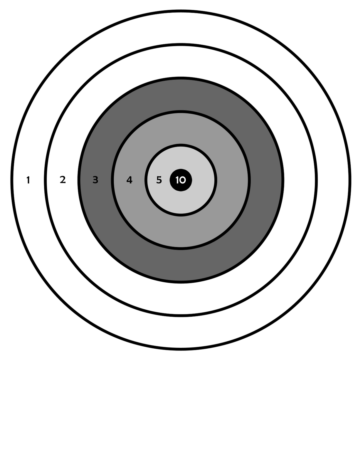 Printable Gun Targets - ClipArt Best