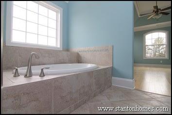 Beautiful Blue Popular Bathroom Colors Photos