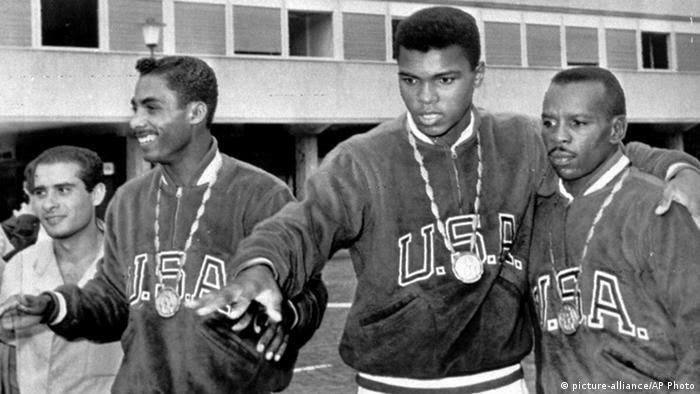 Italien Muhammad Ali bei den Olympischen Spielen in Rom 1960