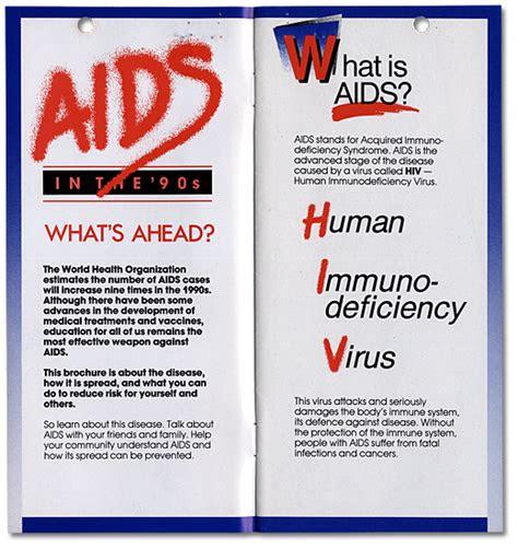 hiv aids brochure foto bugil bokep
