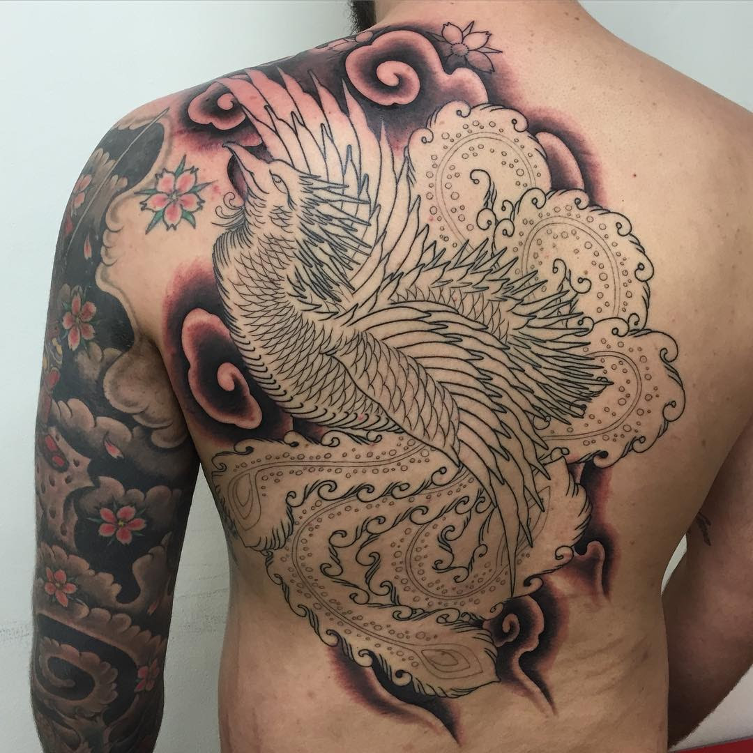 80+ Best Phoenix Tattoo Designs & Meanings - Mysterious