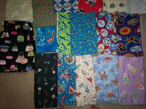 I Spy Quilt Fabrics