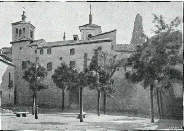 Plaza de Padilla hacia 1920. Fotografía de Pedro Román Martínez