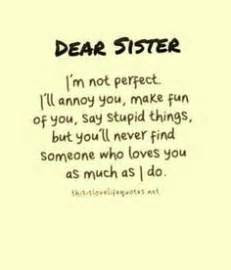 Cute Step Sister Quotes