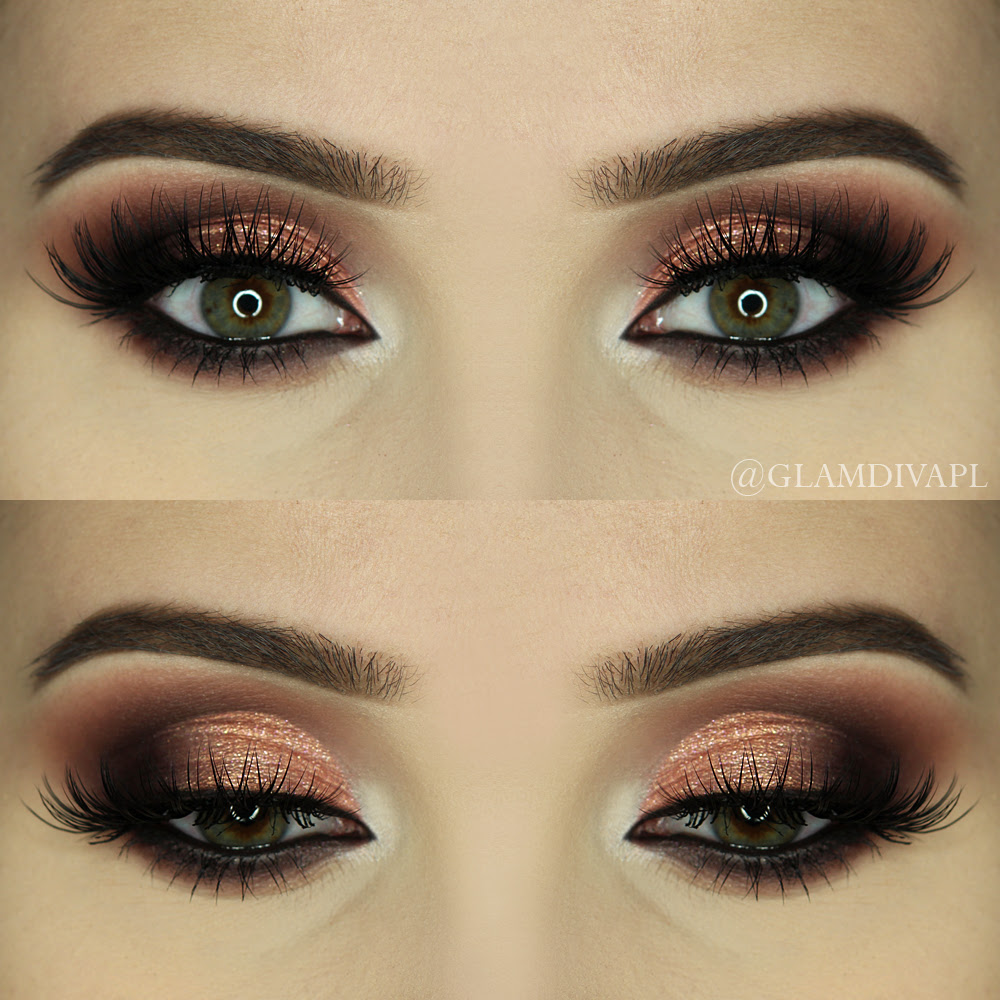 Different styles of makeup looks