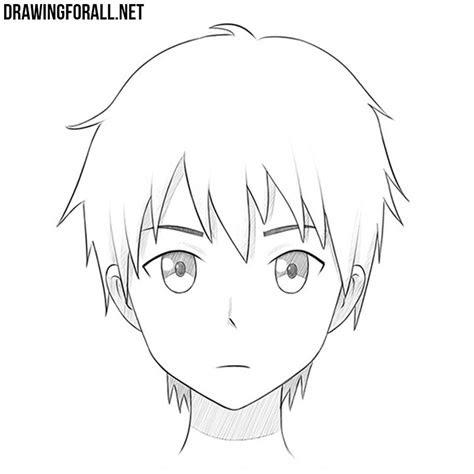 draw  anime face drawingforallnet