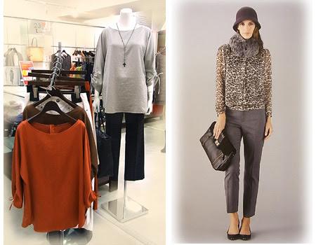 2012秋ファッション,秋流行,23区ファッション,23区秋コート,秋パンサー