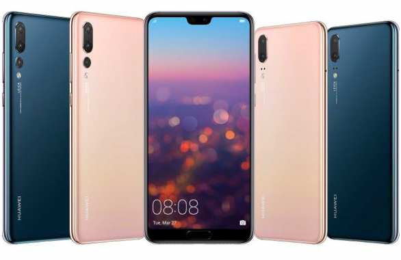 Huawei P20 and P20 Pro rear view