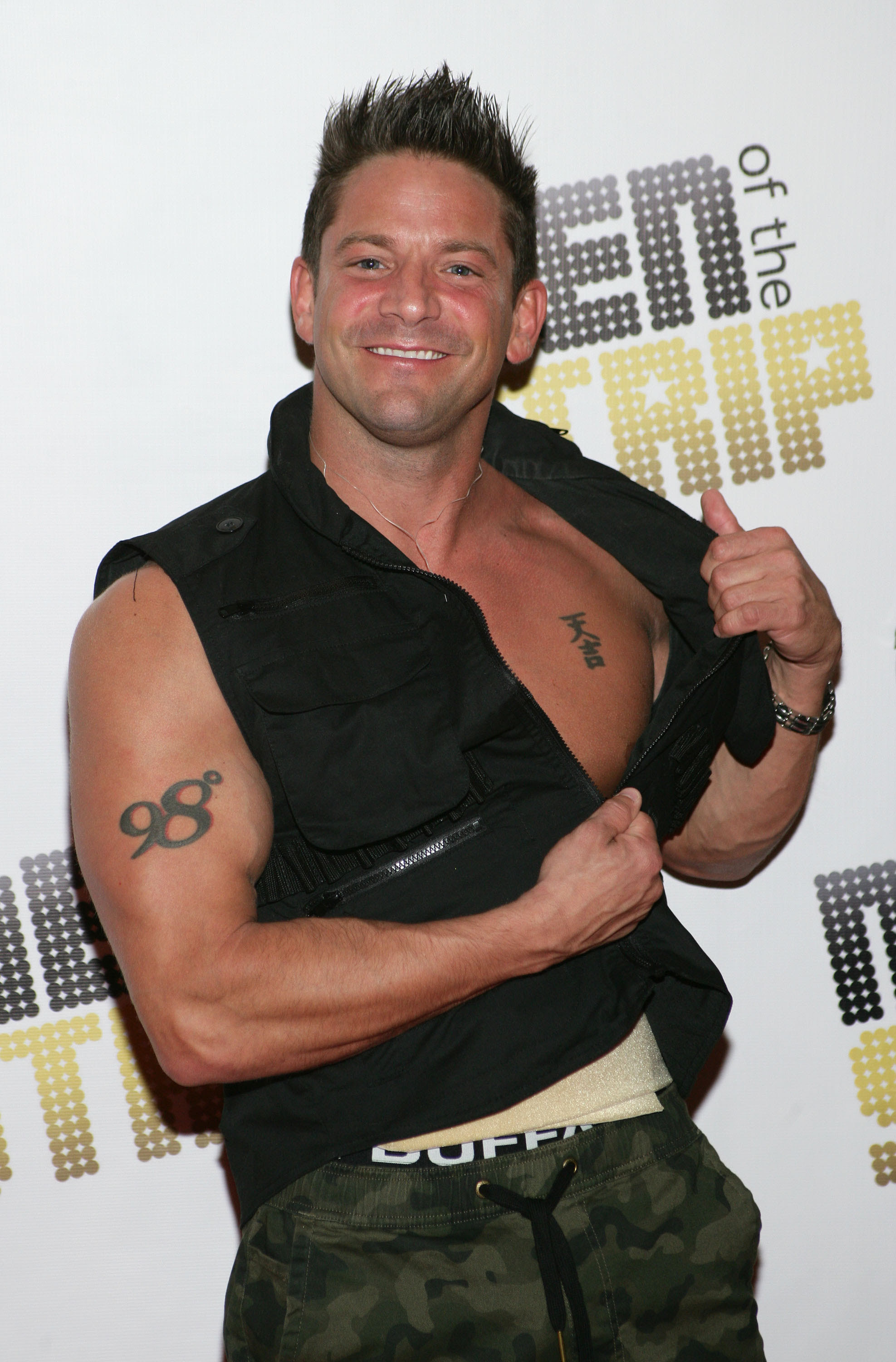 "Jeff Timmon's of  ""Men of the Strip"" fame at House of Blues at Mandalay Bay in Las Vegas on March 29."
