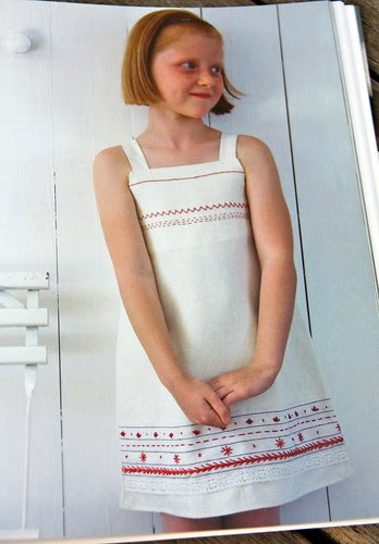 Sampler Linen Dress