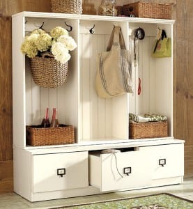 Organize Your Entryway or Mudroom | How To Decorate