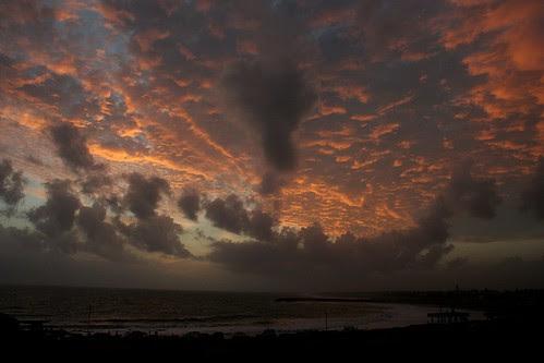 View from sunset point (Kanyakumari)