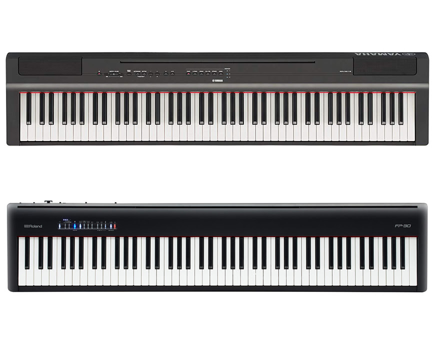 Yamaha P 125 Vs Roland Fp 30 Techbuckarch Com
