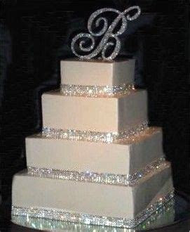 17 Best ideas about Rhinestone Wedding Cakes on Pinterest