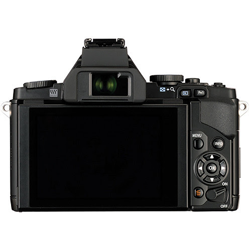 Olympus OM-D E-M5 Rear OLED Touchscreen