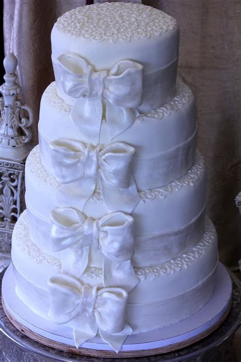 Janeika's blog: four tier wedding cake