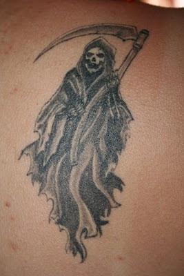 Imágenes De La Santa Muerte Para Tatuar 8 Imágenes De La Santa