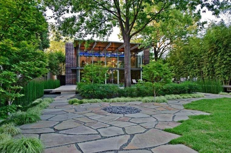 Diseño de jardines modernos – 100 ideas impactantes.
