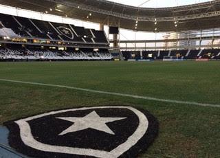 Botafogo x Olimpia Nilton Santos Pré-Libertadores (Foto: André Durão/GloboEsporte.com)