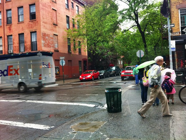 Scene from a Rainy New York, May 2011
