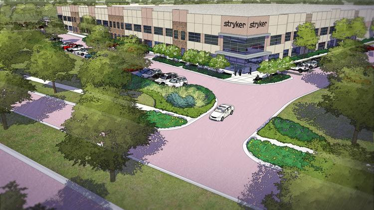 Stryker Communications plans to add up to 200 employees to its soon-to-be expanded headquarters in Flower Mound.