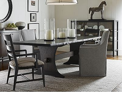 Thomasville Furniture Classic Wood Upholstered Furniture