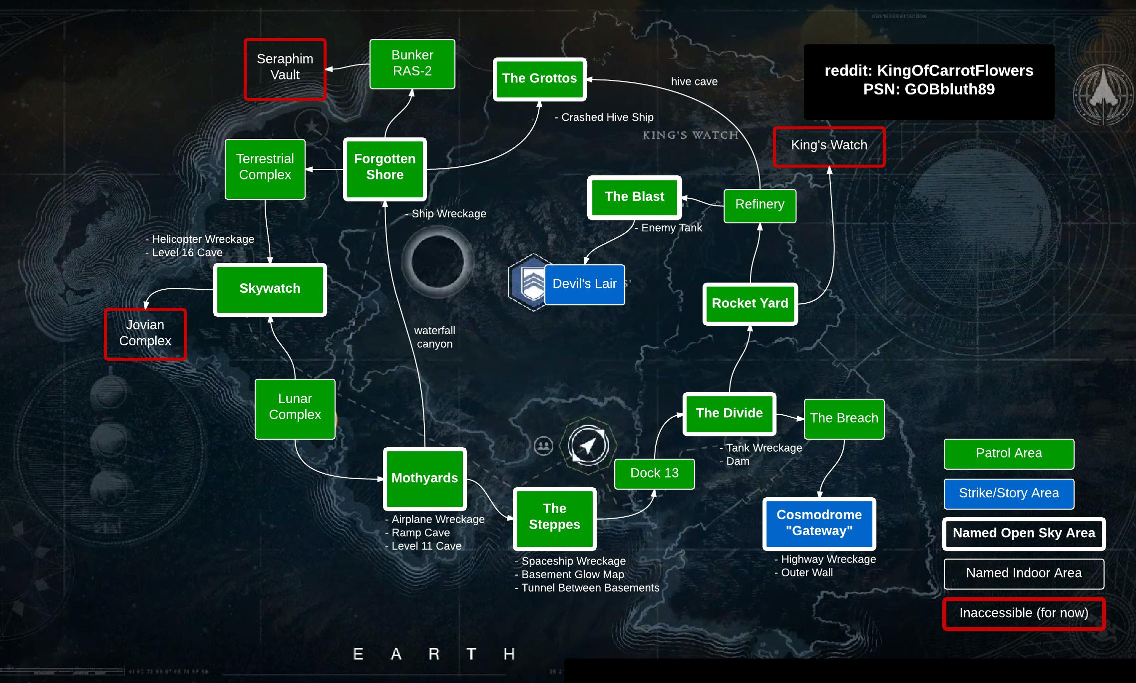 Earth Map Destiny | Time Zone Map
