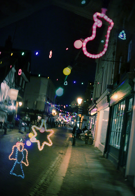 Rochester Town Christmas - collage