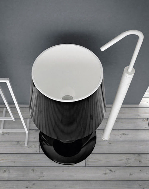 Lamp Shaped Washbasin - Light by ArtCeram