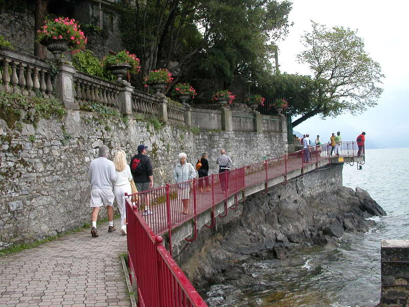 The Promenade into Varenna