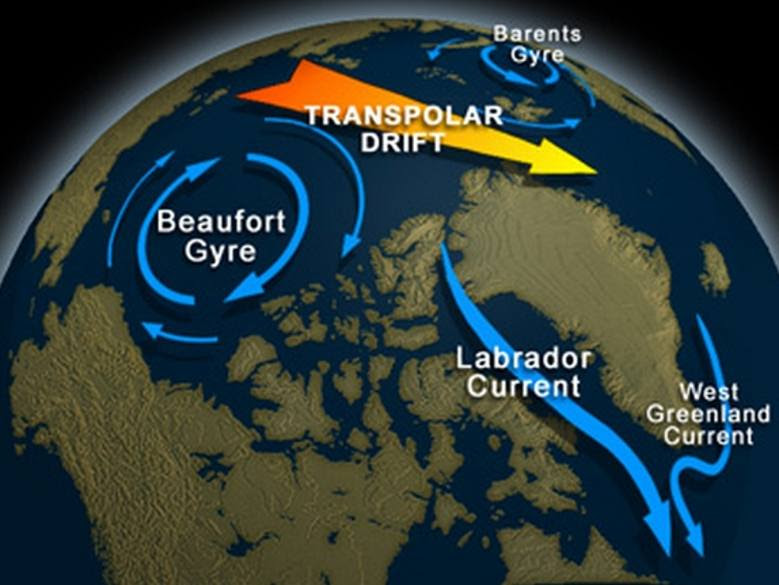 Image result for Beaufort Gyre