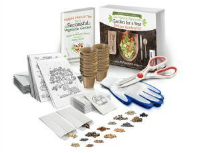 Enter to #Win an #AbundantLiving Deluxe Heirloom Gardening Kit