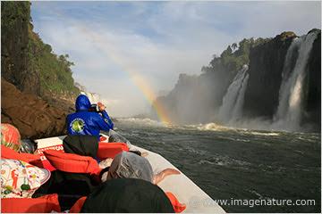 Iguassu Falls boat safari