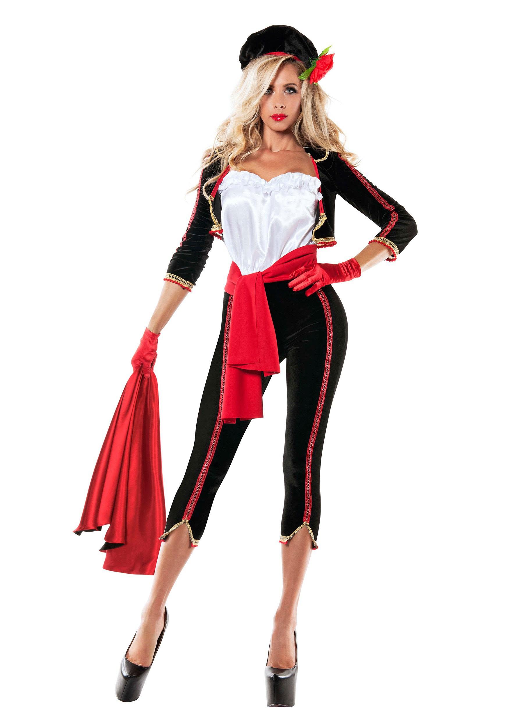 women's matador costume