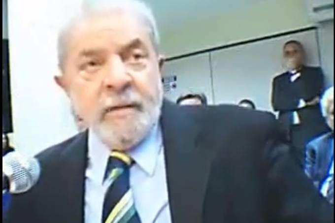* Lula diz não acreditar que será preso na Lava Jato.