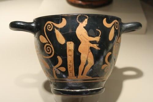 Greek Athlete With Strigil