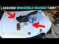 2009 Audi A4 Windshield Washer Fluid Leak