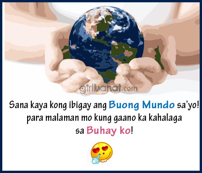 Cheesy Tagalog Love Quotes And Messages Girl Banat