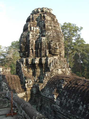 Another carved face in Bayon Temple