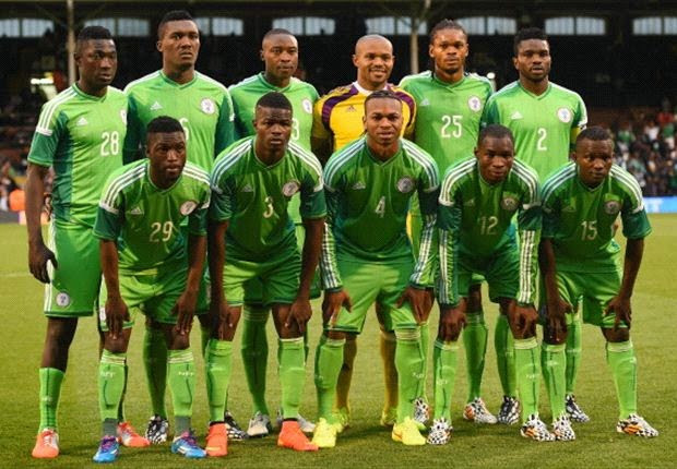Nigeria+Team Stephen Keshi Unveils 23 Man Super Eagle Squad For Brazil 2014, Drops Ahmed Musa & Sunday Mba
