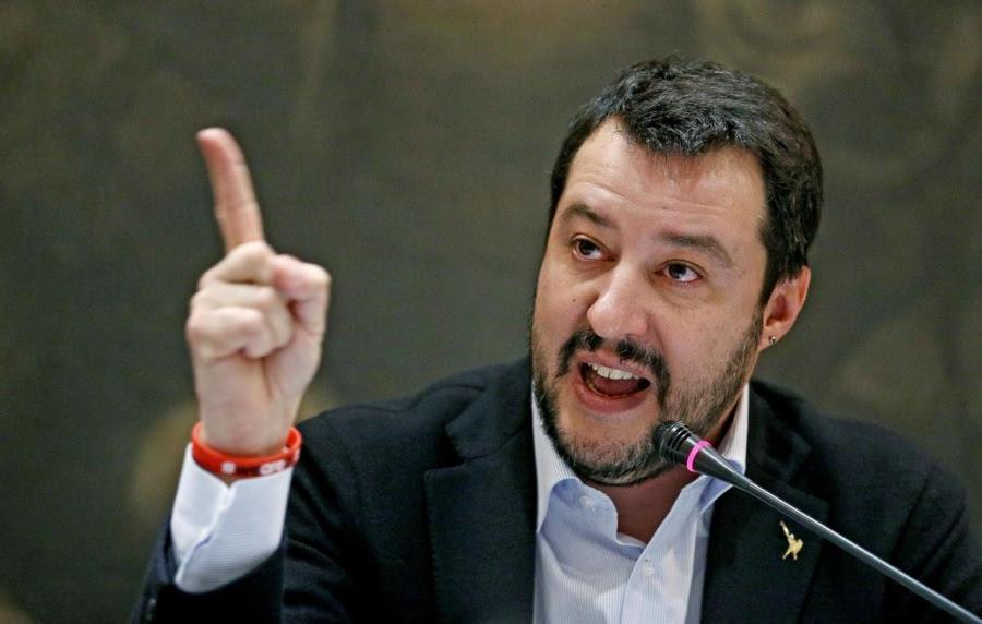 O Salvini παρομοίασε τους Αφρικανούς μετανάστες με... σκλάβους - Οργισμένη αντίδραση από τον ΥΠΕΞ του Λουξεμβούργου