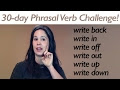 PHRASAL VERB Day 29 - WRITE