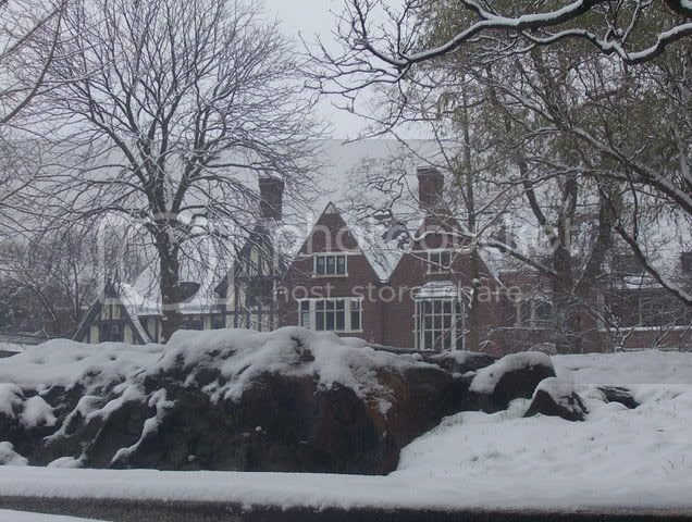 First Snow at Sarah Lawrence
