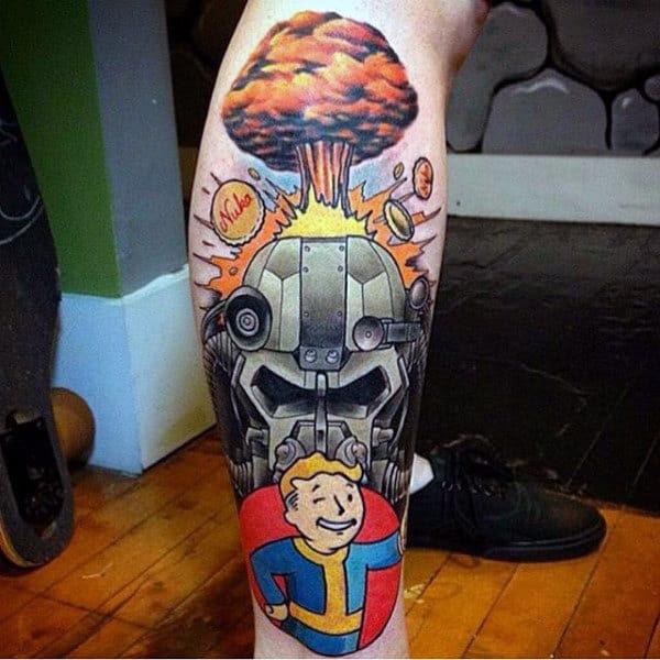 100 Video Game Tattoos For Men - Gamer Ink Designs