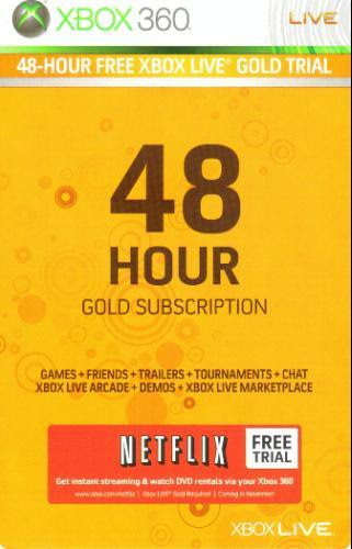 Free Xbox 48 Hour Codes - No Bullshit: Download Xbox Live