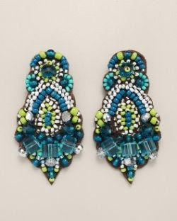 Chico's Zwena Clip Earrings
