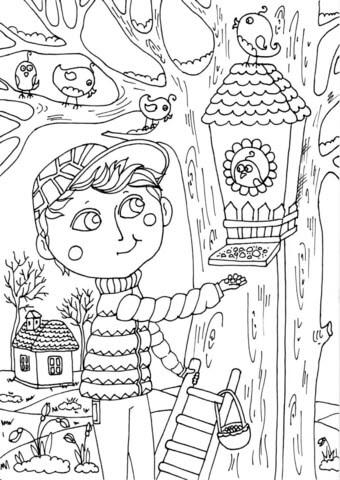 Dibujo De Niño Peter En Marzo Para Colorear Dibujos Para Colorear